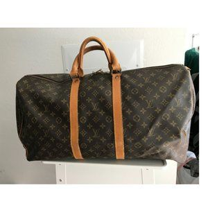 Louis Vuitton Keepall 55 Carry On Luggage